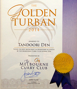 The Golden Turban Melbourne Curry Club